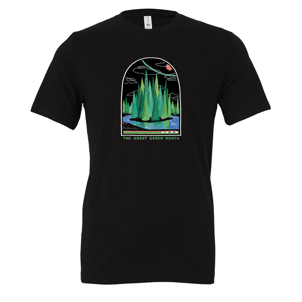 Great Green North Unisex T-shirt - byfor.ca