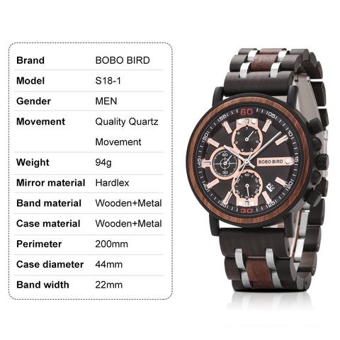 s18-1 technical specifications watch