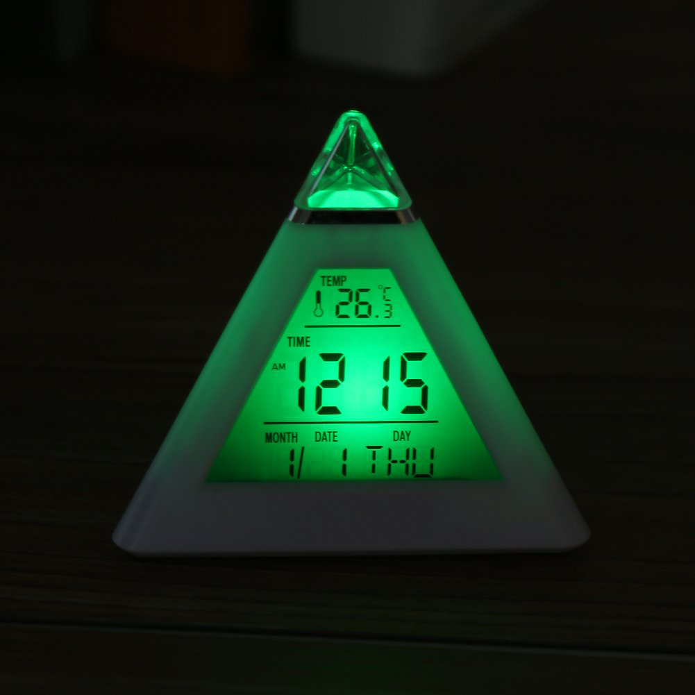 TW Triangled Clock
