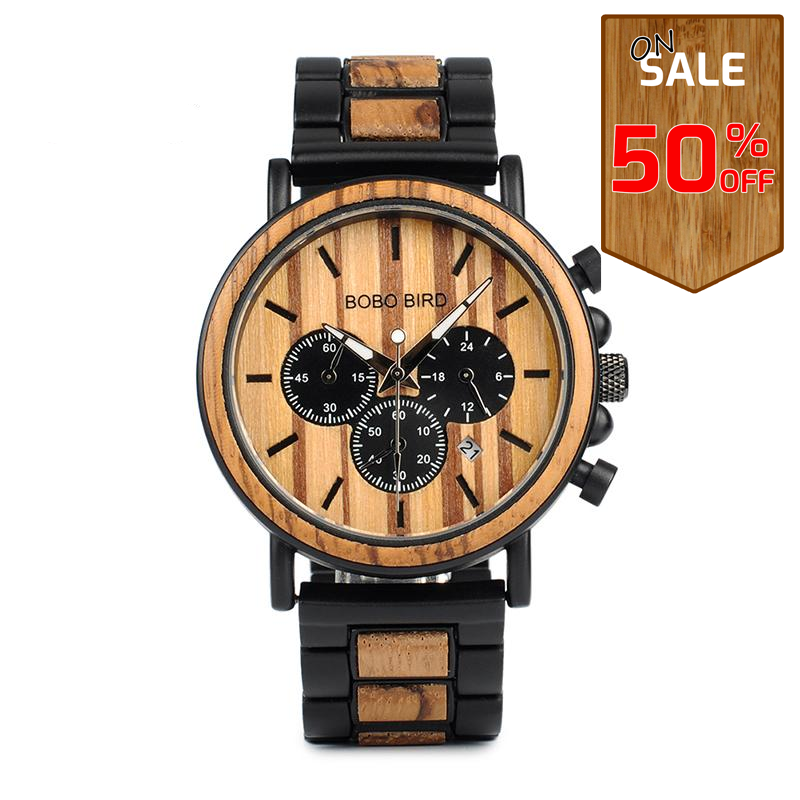 Wooden Watch P09-1