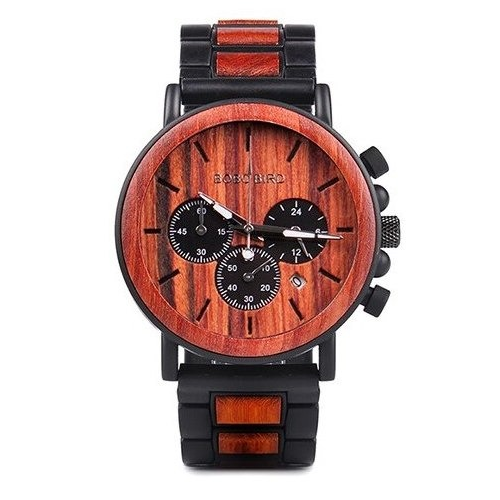 Wooden Watch P09-3