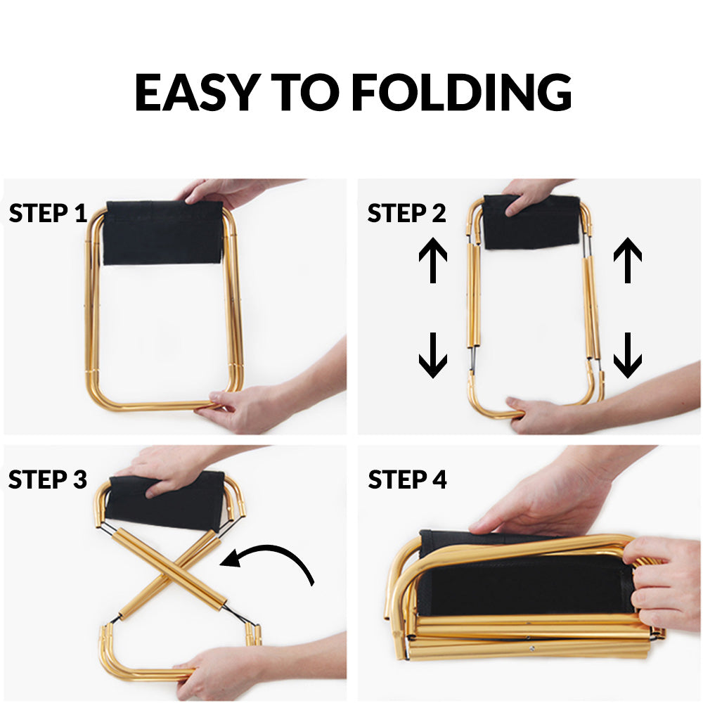 folding chair detachable