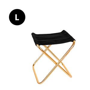 folding chair gold large
