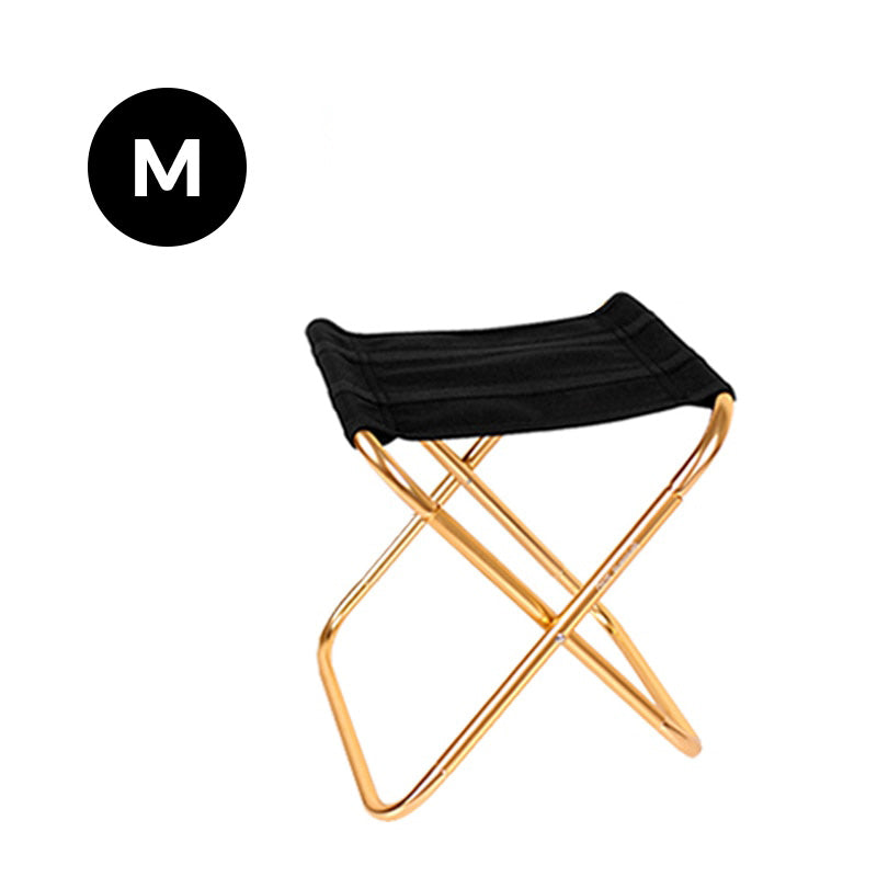 folding chair gold medium