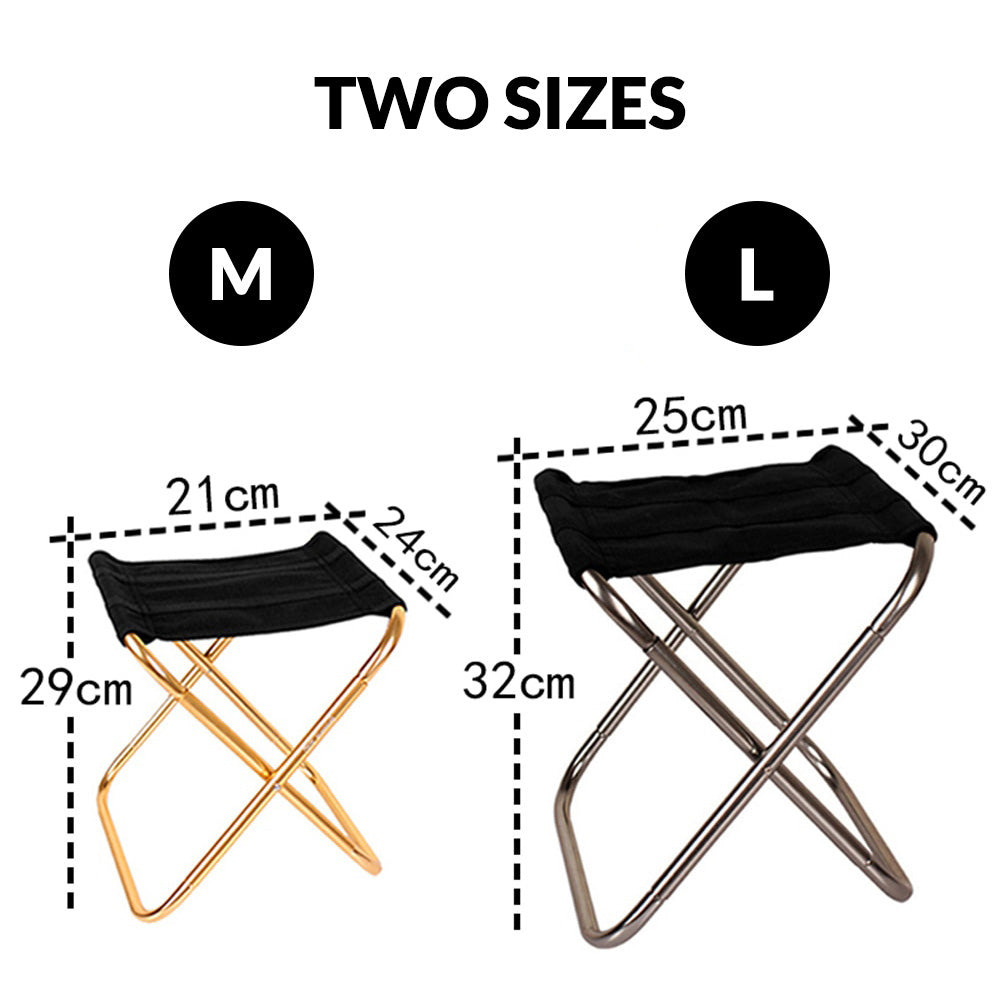 folding chair sizes measurements