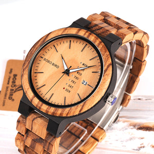 Wooden Watch O26-1