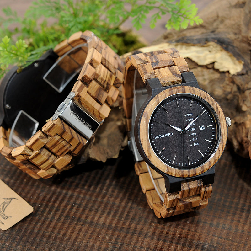 Wooden Watch O26-2
