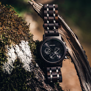 Wooden Watch P19-1