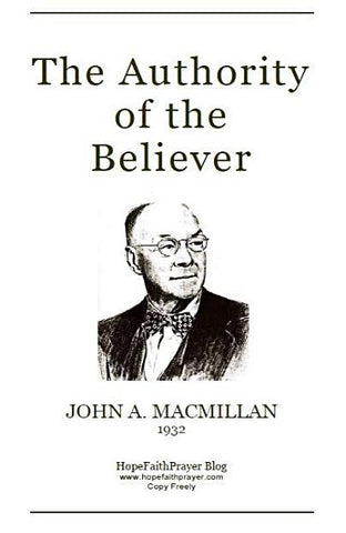 The Authority of the Believer (printed PDF)