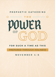 Prophetic Gathering 2020: The Power of God For Such a Time As This