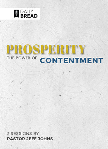 Prosperity: The Power of Contentment