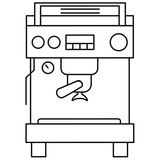 Espresso Machine by Gabriela Muñiz from the Noun Project