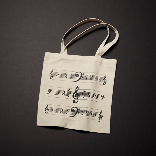 Canvas Tote - Music (Wholesale)