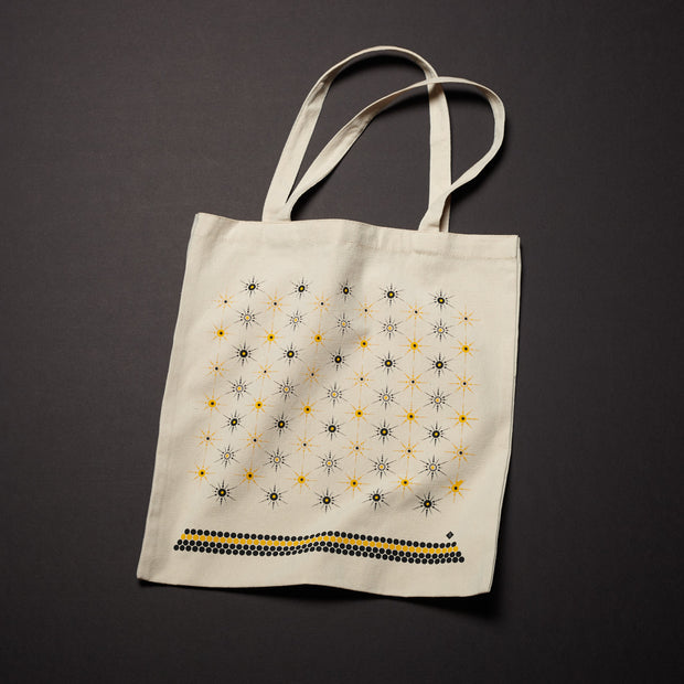Canvas Tote - Starburst (Wholesale)