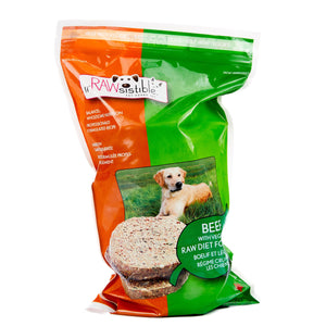 227g Boneless Beef Patties for Dogs (Sleeve Pouch)