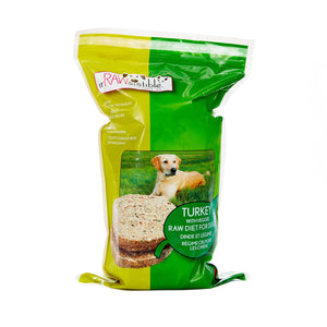 227g Boneless Turkey Patties for Dogs (Sleeve Pouch)
