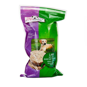 227g Boneless Lamb Patties for Dogs (Sleeve Pouch)