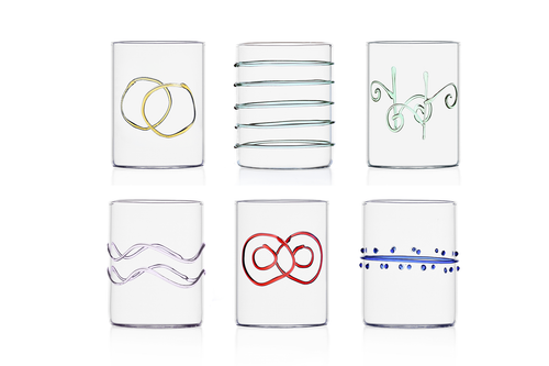 Deco Glass (set of 6)