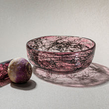 "Load image into Gallery viewer, ""Tasting Threads"" Deep Bowl, Murano Tableware"