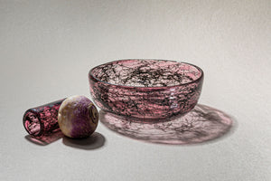 """Tasting Threads"" Deep Bowl, Murano Tableware"