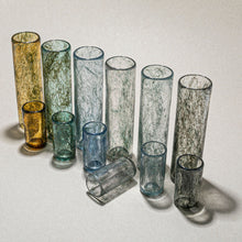 "Load image into Gallery viewer, ""Tasting Threads"" Long Drinking Glass, Murano Tableware"