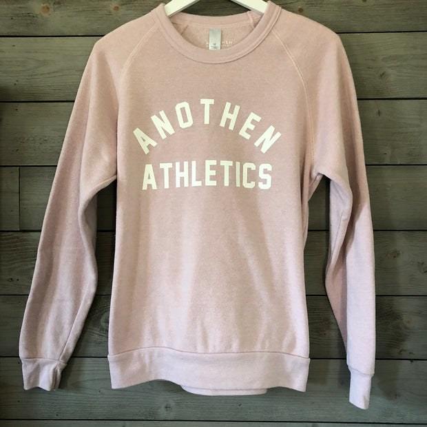 Limited Edition Anothen Athletics Crew Top - Dried Pink