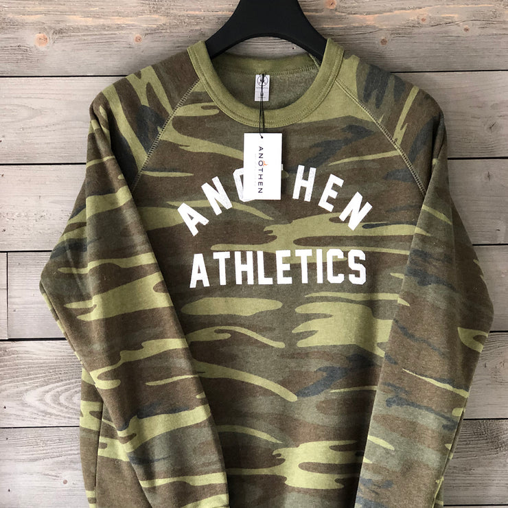 Limited Edition Anothen Athletics Crew Top - Camo