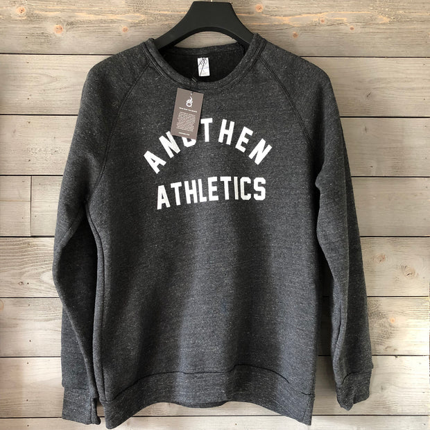 Limited Edition Anothen Athletics Crew Top - Charcoal Grey
