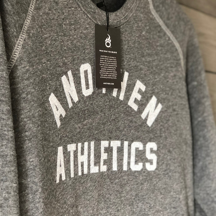 Limited Edition Anothen Athletics Crew Top - Heather Grey
