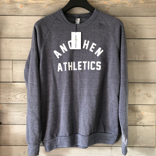 Limited Edition Anothen Athletics Crew Top - Cadet Blue