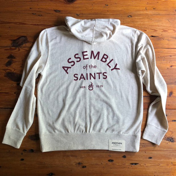 Assembly of the Saints Collection - Unisex Full Zip Hoodie