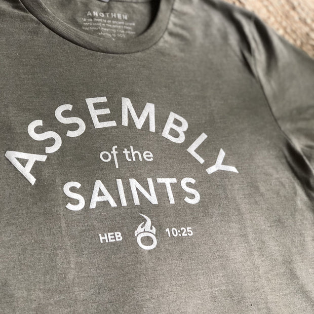 Assembly of the Saints Crew T-Shirt - Photoshoot