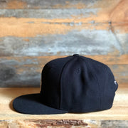 Anothen Insignia Flat Bill Cap - Black