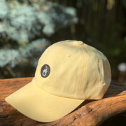 Anothen Insignia Cap - Pastel Yellow w/ Black Appliqué