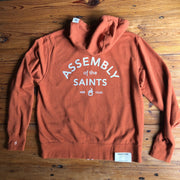 Assembly of the Saints Full Zip Hoodie - Photoshoot