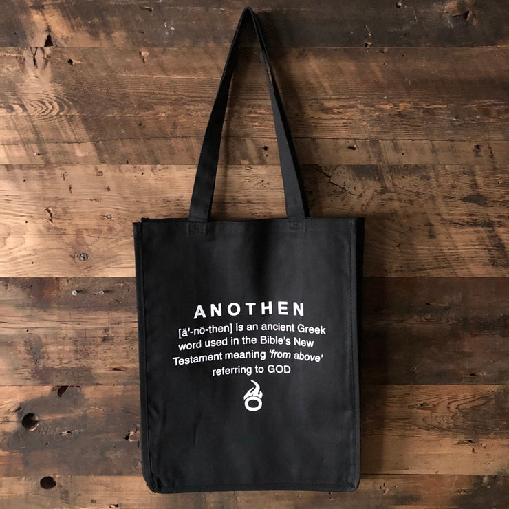 Anothen Basics Large Canvas Tote