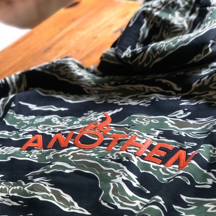 Limited Edition Release Insignia Heavyweight Hoodie - Tiger Camo