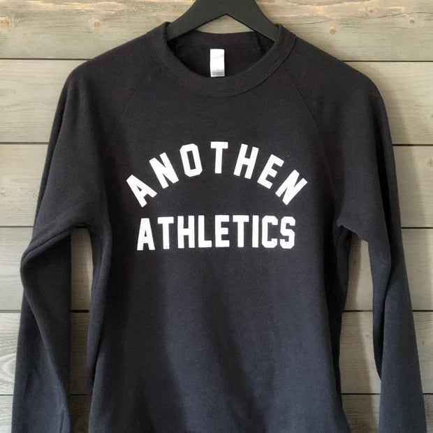 Limited Edition Anothen Athletics Crew Top - Black