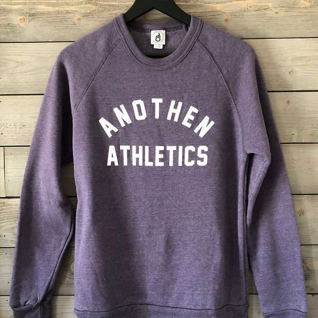 Limited Edition Anothen Athletics Crew Top - Heather Purple