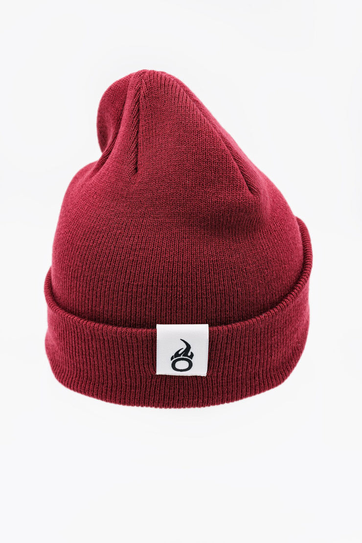 Classic Anothen Beanie - Crimson Red
