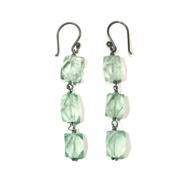 Earrings Flora Green