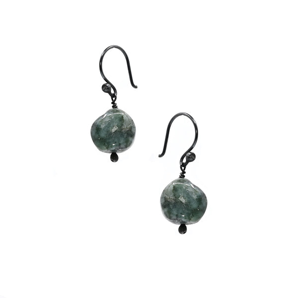 Earrings Emeralds