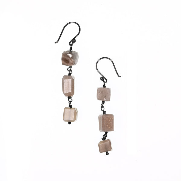 Earrings Moonstones