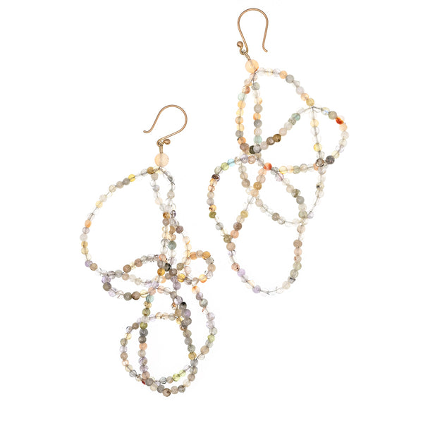 Earrings Tangled 18k