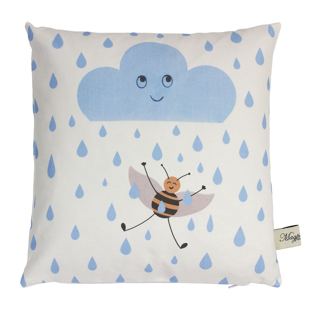 Rainy Bee Cushion