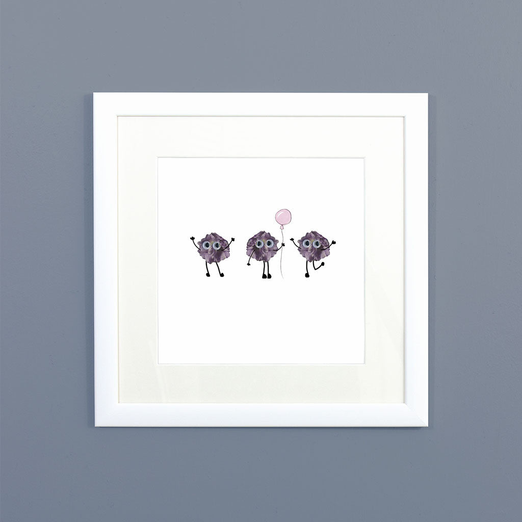 Little Imps Framed Print
