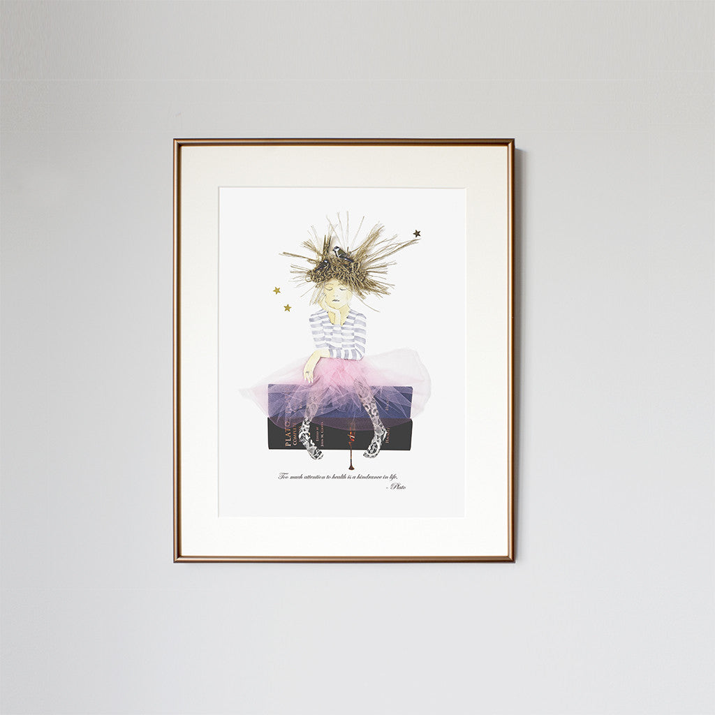 Plato - Limited Edition Framed Print