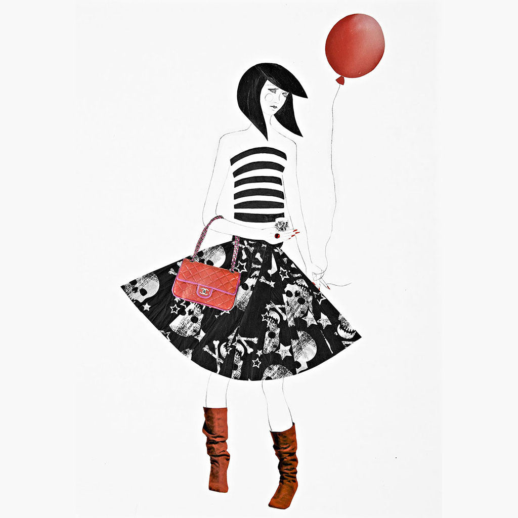Red Balloon - Framed Print