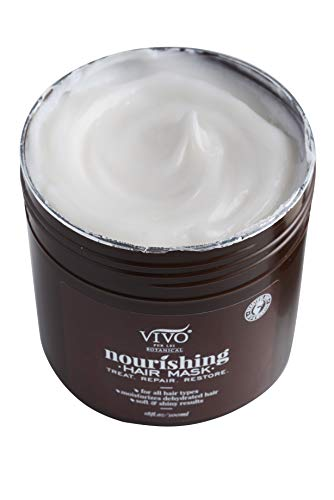 Vivo Per Lei Hair Mask - Deep Conditioning Mask For Limp Dull Hair - Argan Oil Hair Mask For Dry Damaged Hair - Anti-Frizz Hair Mask - Enjoy Stimulating Hair Benefits With This Hair Repair Mask