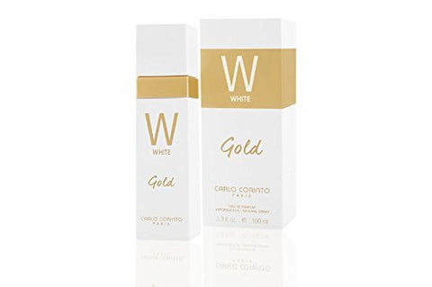 Corinto White Gold Women 3.4 Oz Eau De Toilette Spray New!